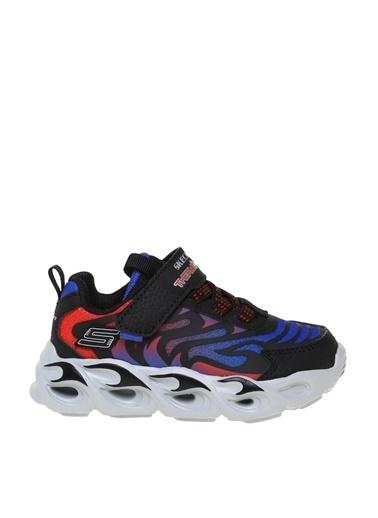 Skechers Skechers Siyah - Kırmızı - Mavi Yürüyüş Ayakkabısı Siyah